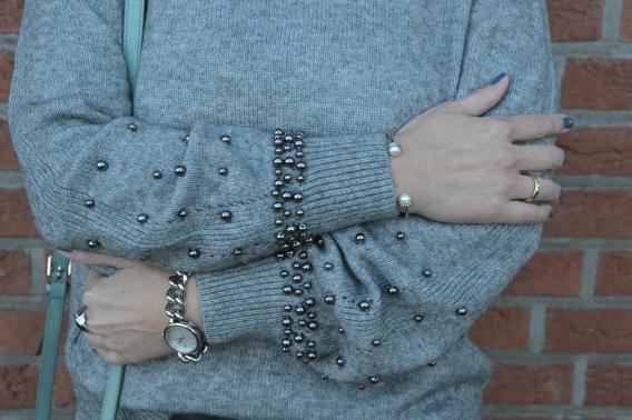 Detailverliebte Mode mit Perlen