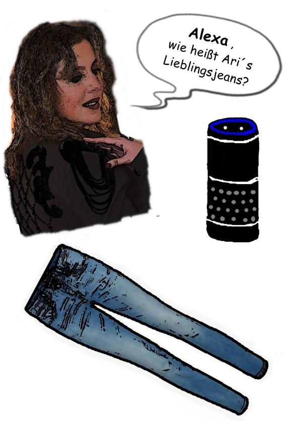 Alexa fragen Lautsprecher Echo Antwort