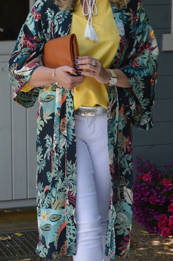 ü40 Kimono-Look