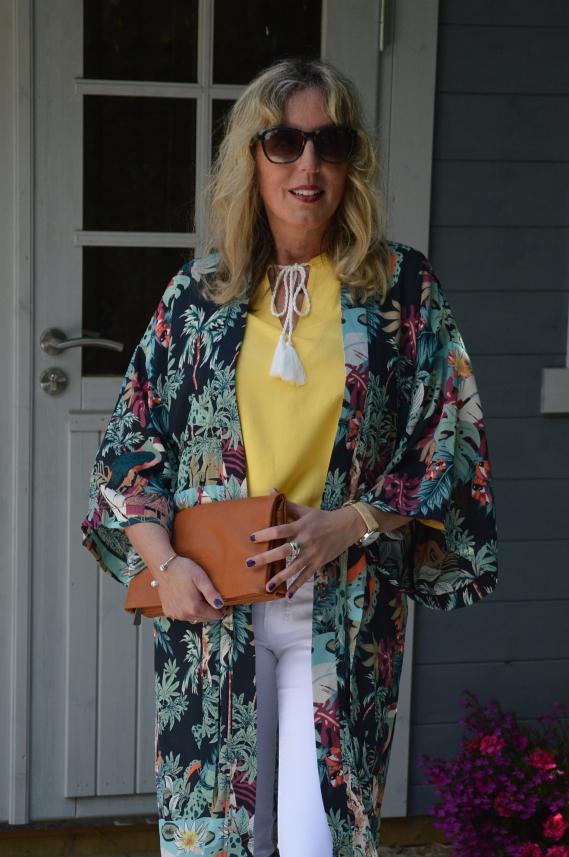 Kimono-Look