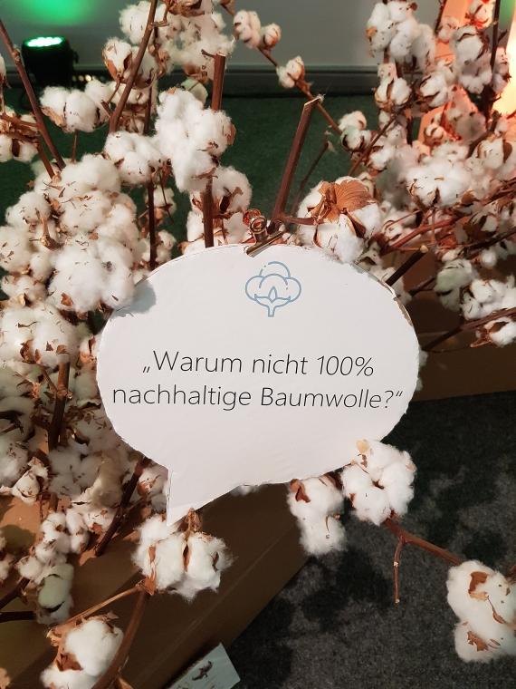 Barbara Meier und Marie Nasemann beim Tchibo Event Nachhaltig Leben