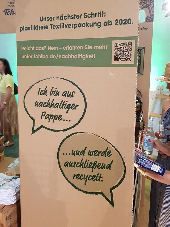 Barbara Meier Tchibo Event Nachhaltig Leben