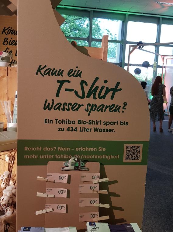 Tchibo Event Nachhaltig Leben