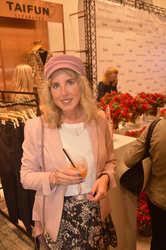 Moderatorin Marlene Lufen und Model Milva Spina