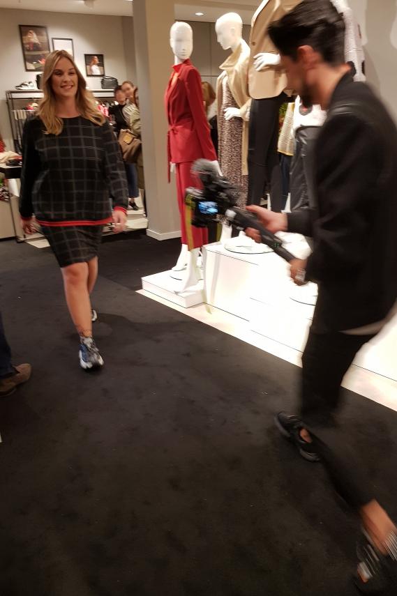 Gerry Weber Event mit Moderatorin Marlene Lufen und Model Milva Spina