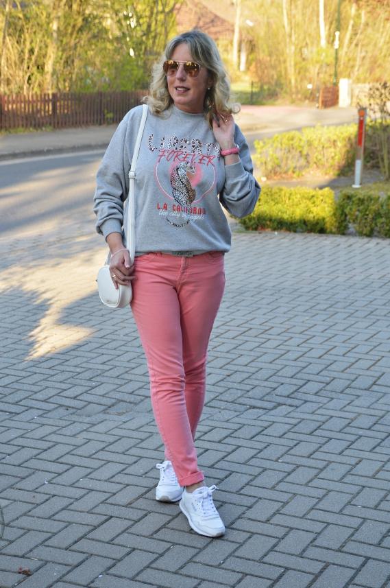 Sweatshirt Trag´s mit Fassung