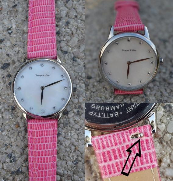 ch finde es dermaßen praktisch, dass man ganz nach Belieben das schwarze oder pinke Armband wechsel kann