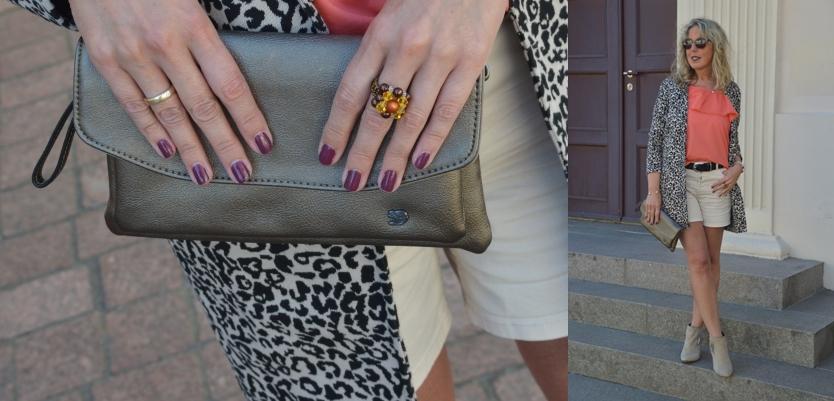 Kleine Handtaschen sind stylish und vor allem so schön leicht