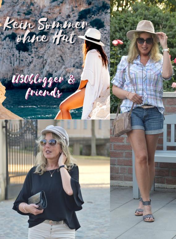 Ü30 Blogparade - Kein Sommer ohne Hut