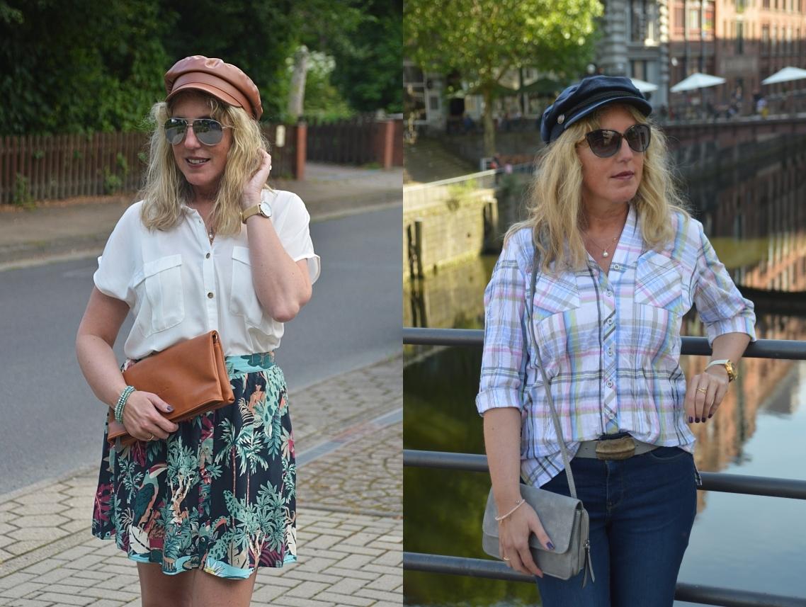 Hüte und Schiffermützen sind für mich stylishe Accessoires