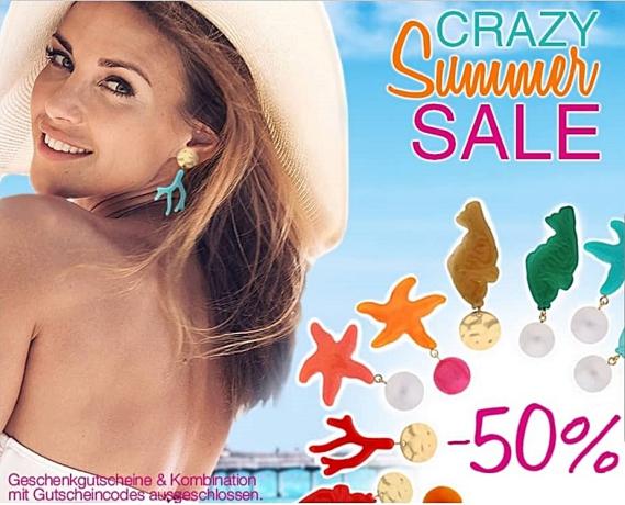 Bei INAstyle bekommt Ihr auf alle Ohrringe 50% Rabatt
