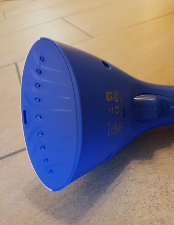 Philips  Dampfbürste glättet spielend leicht