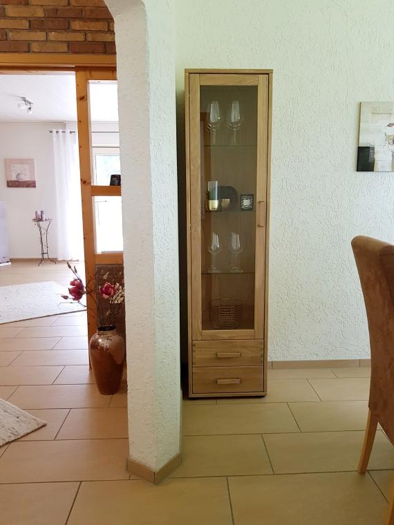 Unser neues Esszimmer in Massivholz Eiche Bianco