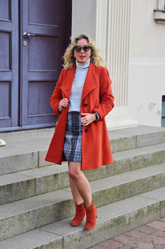 Ü30 Bloggeraktion - Violett und Orange in den Herbst