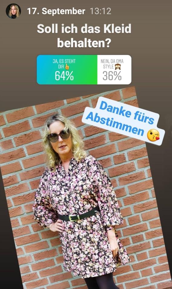 Umfrage Instagram