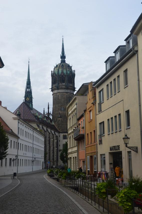 Während unseres Urlaubes in Sachsen-Anhalt am Gröbener See besuchten wir die Lutherstadt Wittenberg.