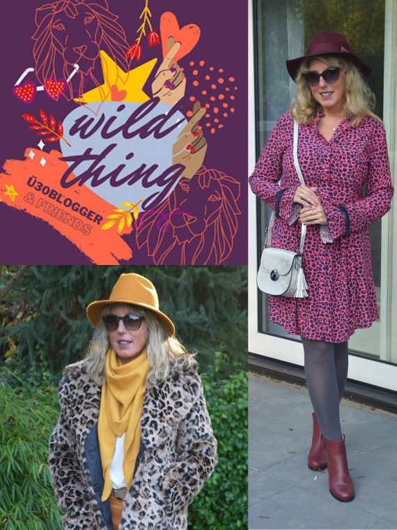 Ü30 Bloggeraktion - Wild Think - Meine Looks mit Animalprint