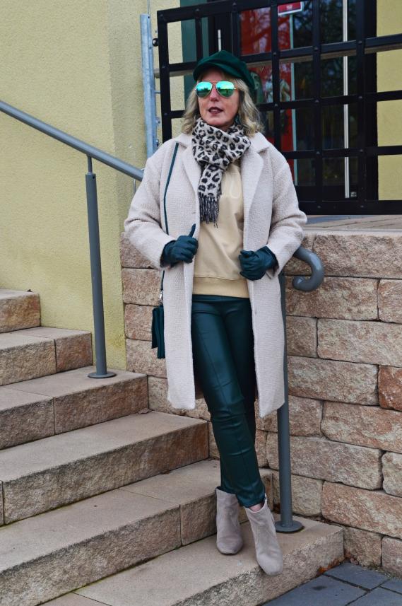Mein Schnäppchen am Black Friday: Wollmantel in Beige von H&M