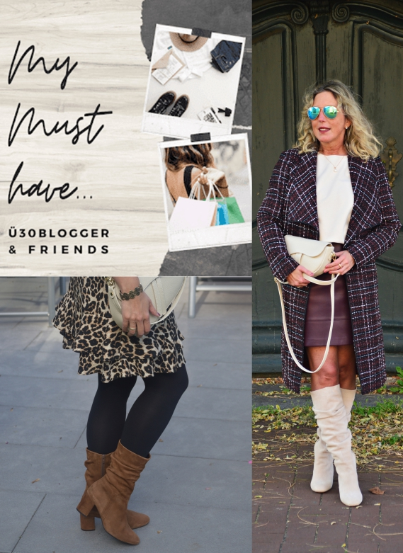 Ü30 Bloggeraktion - My Must-have - Geraffte Stiefel