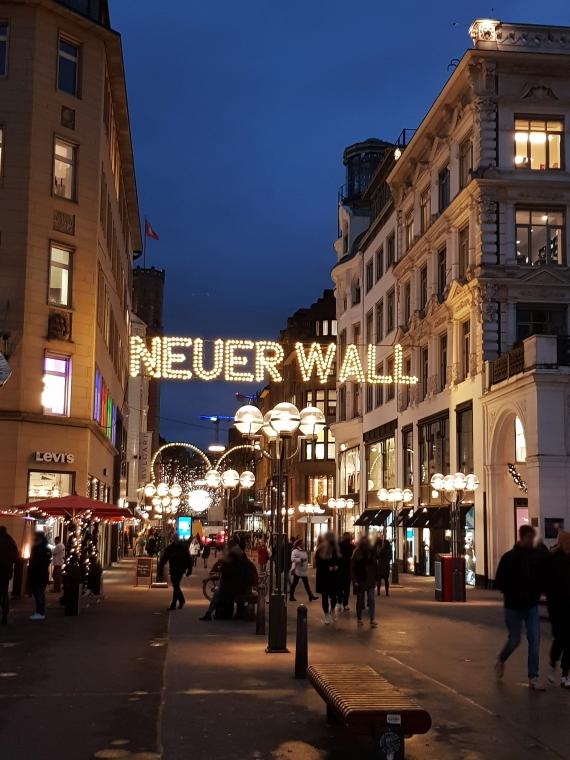Neuer Wall Weihnachtsbeleuchtung Hamburg