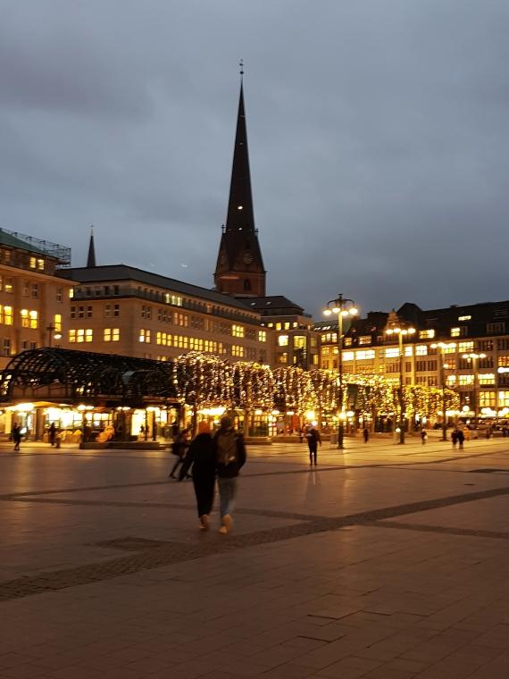 Hamburg Weihnachtsbeleuchtung