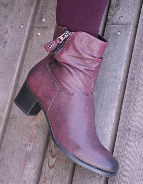 Schuhe24.de Caprice Stiefeletten in Bordeaux