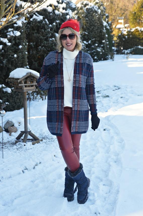 In der letzten Woche holte ich mal meine Schneeboots hervor