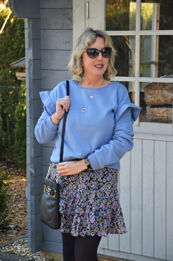 Zufällig zählt die Farbe Blau in diesem Frühjahr und Herbst zu einer der Trendfarben.