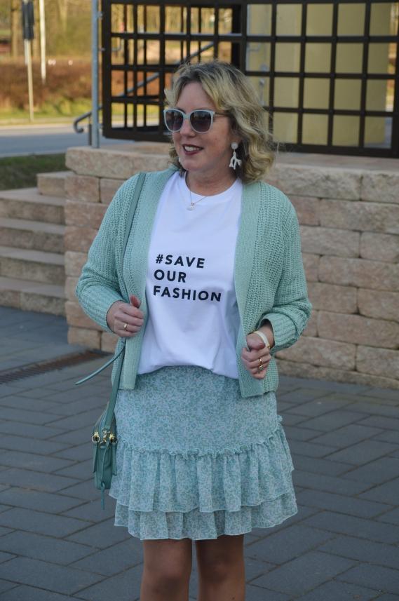 Save our Fashion lautet die aktuelle Aktion von Gerry Weber