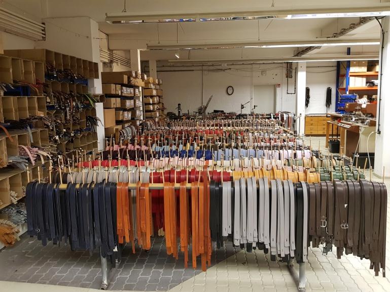 Lederlabel Luca Kayz - Besuch der Manufaktur in Bad Bramstedt