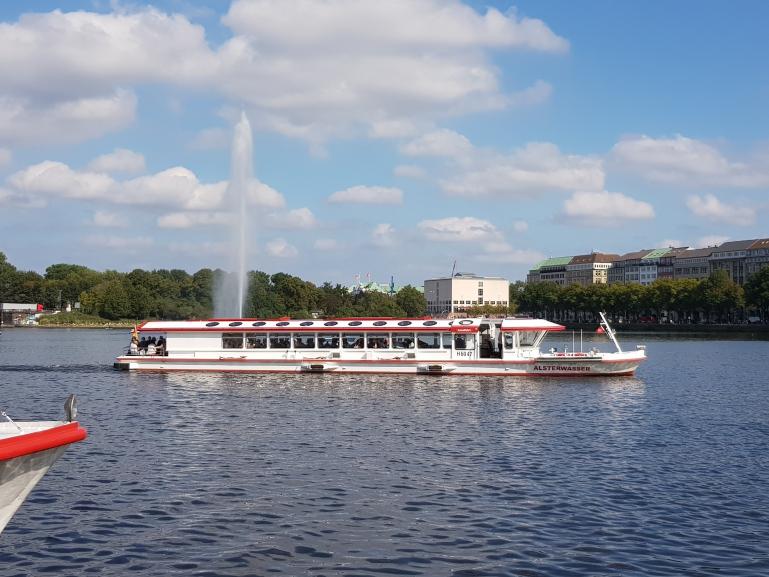 Alsterrundfahrt Hamburg